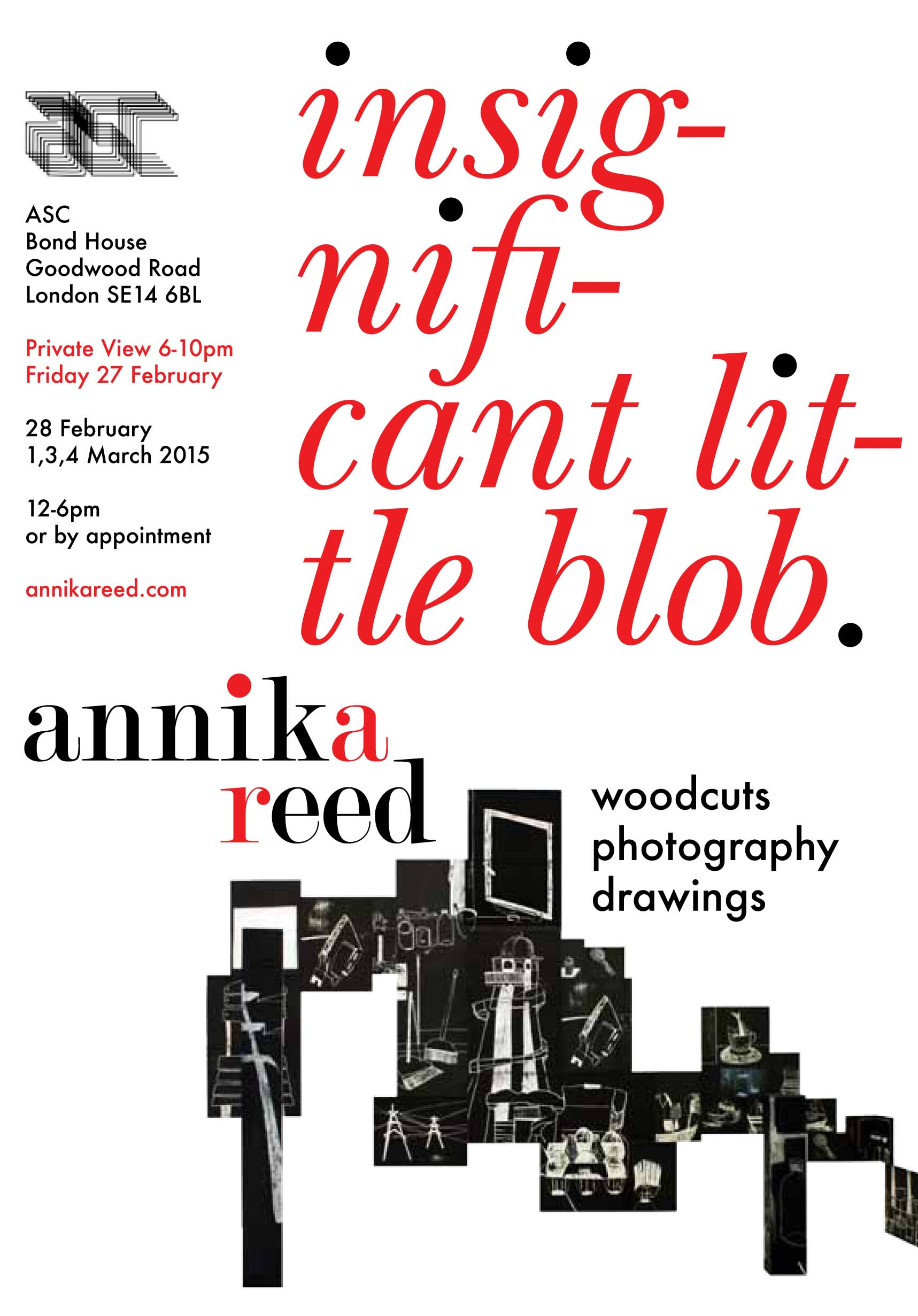 Bond House Projects | Annika Reed | Insignificant Little Blob - ASC