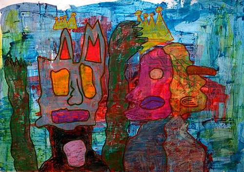 Kings With Twins 210x150 cm