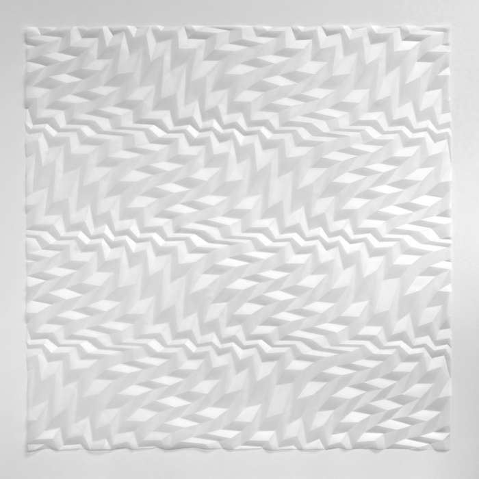 Construction Interference IV (99 x 99 x 2cm)