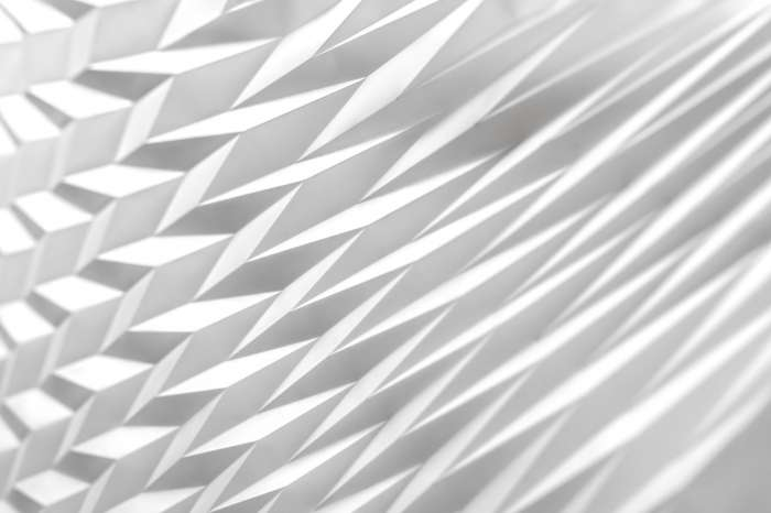 Folded Perspective - detail (99 x 99 x 2cm)