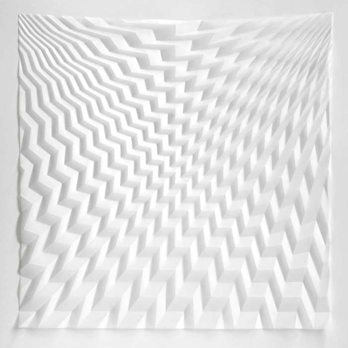 Folded Perspective (99 x 99 x 2cm)